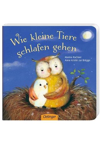 Buch »Wie kleine Tiere schlafen gehen / Anne-Kristin zur Brügge, Marina Rachner« kaufen