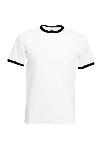 Fruit of the Loom T-Shirt »Herren Ringer« kaufen