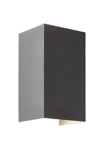 Brilliant Leuchten Außen-Wandleuchte, Haliz LED Außenwandleuchte 2flg dunkelgrau kaufen