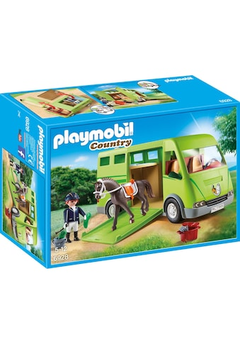 "Playmobil® Konstruktions - Spielset ""Pferdetransporter (6928), Country"", Kunststoff kaufen"