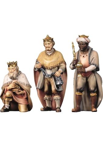 ULPE WOODART Krippenfigur »Hl. Drei Könige«, Handarbeit, hochwertige Holzschnitzkunst kaufen