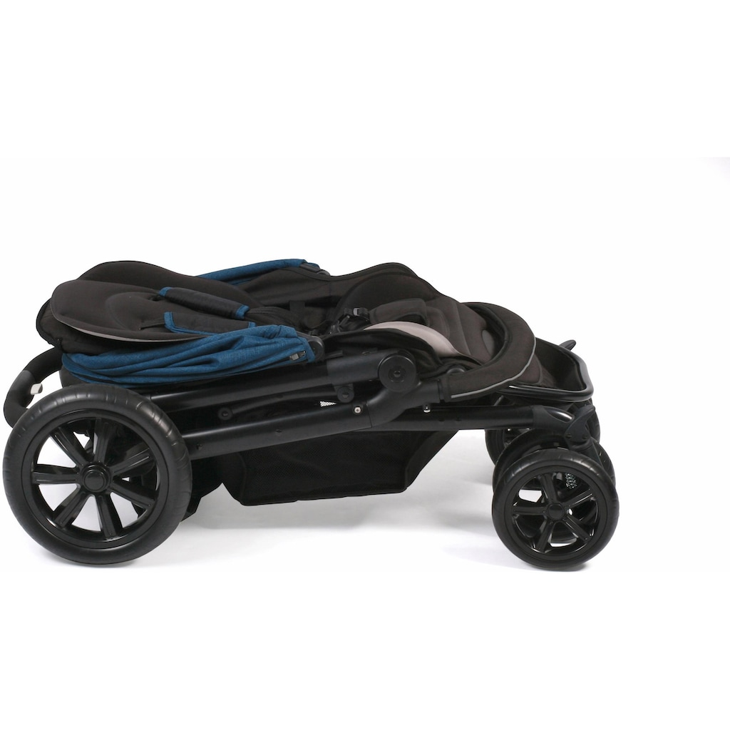CHIC4BABY Kinder-Buggy »Pronto, navy«, mit feststellbaren Doppelschwenk-Vorderrädern