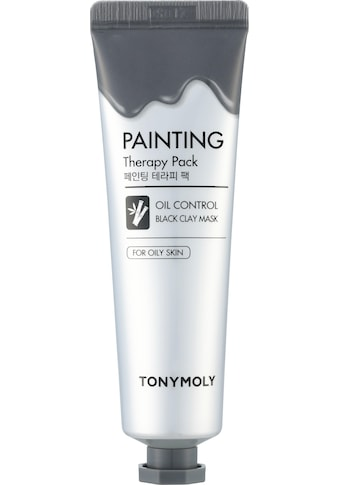 TONYMOLY Gesichtsmaske »Painting Therapy Oil Control Black Color Clay« kaufen