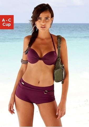 LASCANA Push-Up-Bikini-Top »Italy«, mit Raffung kaufen