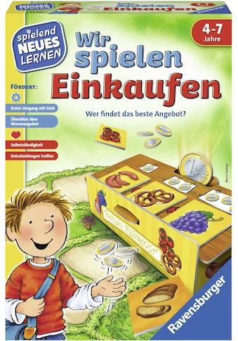 Ravensburger Spiel »Wir spielen Einkaufen«, Made in Europe kaufen