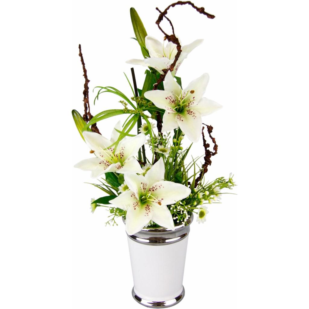I.GE.A. Kunstpflanze »Lilien«