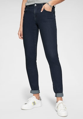 Skinny-Jeans in Dunkelblau