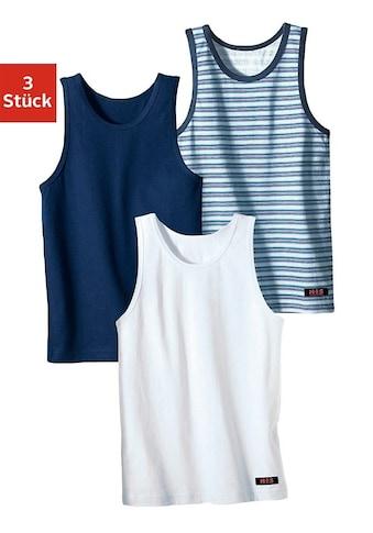 H.I.S Unterhemd, cooler Uni-Streifen-Mix kaufen