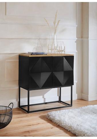 Guido Maria Kretschmer Home&Living Sideboard »Treely«, modernes Design, Füße aus Metall kaufen