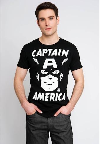 LOGOSHIRT T-Sirt mit Captain America-Print kaufen