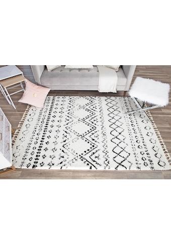 Teppich, »Mason Shag«, CosmoLiving by Cosmopolitan, rechteckig, Höhe 22 mm, maschinell geknüpft kaufen