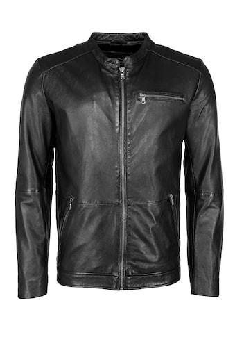 JCC Lederjacke »Stylische Lederjacke mit einer Brusttasche«, MM21-1-02 kaufen