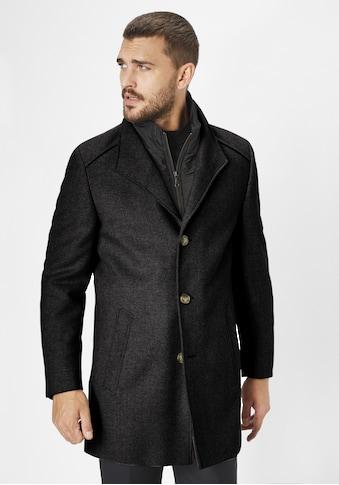S4 Jackets Wollmantel »Newton Black«, slim Fit kaufen