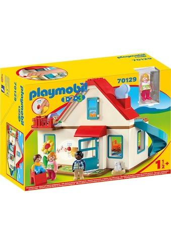 "Playmobil® Konstruktions - Spielset ""Einfamilienhaus (70129), Playmobil 123"", Kunststoff kaufen"