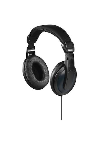 Hama Fernsehkopfhörer , Over - Ear, einseitiges, langes Kabel »Basic4TV, Schwarz« kaufen