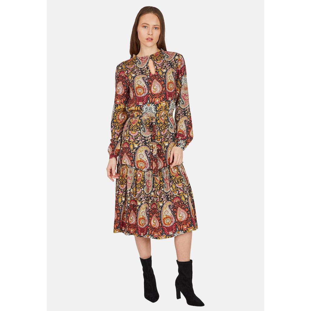 Nicowa Knielanges Kleid mit Paisley-Muster - NICELO