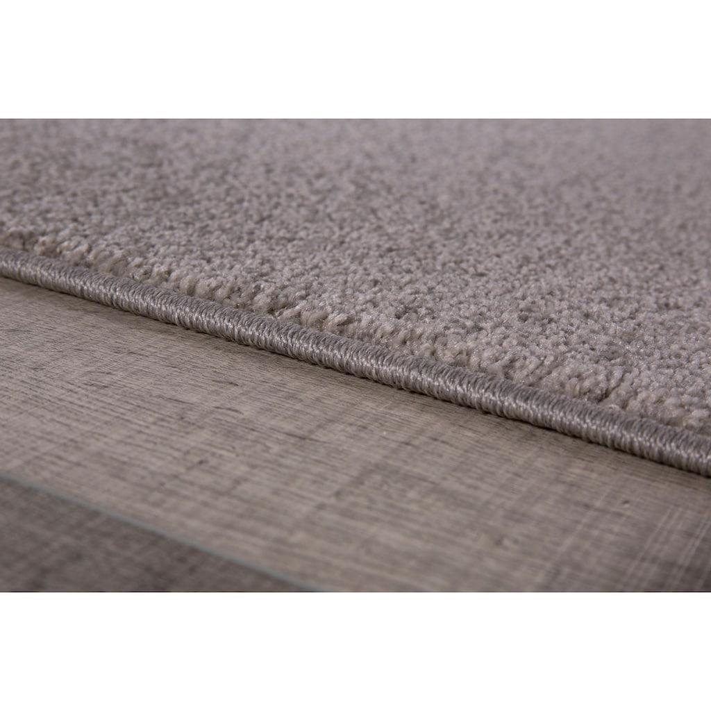 Andiamo Läufer »Jerez«, rechteckig, 8 mm Höhe, Teppich-Läufer, gewebt, Uni-Farben