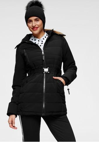 ALPENBLITZ Winterjacke »Oslo short«, hochwertige Steppjacke mit Markenprägung auf dem... kaufen