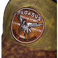 KingKerosin Trucker Cap »Pegasus«, im authentischen Used-Look