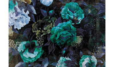 Consalnet Papiertapete »Grüner Blumen Mix«, floral kaufen
