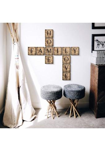 Wall - Art Deko - Buchstaben »Scrabble Deko Buchstaben 10cm« (1 Stück) kaufen