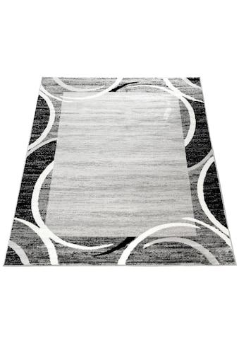 Paco Home Teppich »Sinai 059«, rechteckig, 9 mm Höhe, Kurzflor mit Bordüre, Kundenliebling mit 4,5 Sterne-Bewertung!, Wohnzimmer kaufen