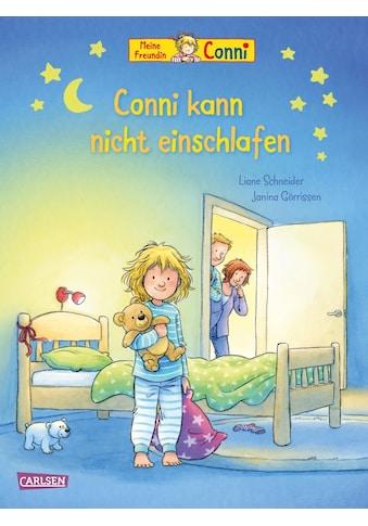 Buch »Conni-Bilderbücher: Conni kann nicht einschlafen / Liane Schneider, Janina Görrissen« kaufen