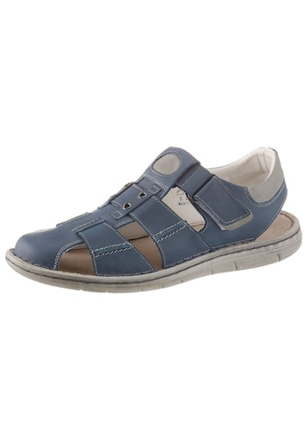 PETROLIO Sandale, mit Ziernähten kaufen