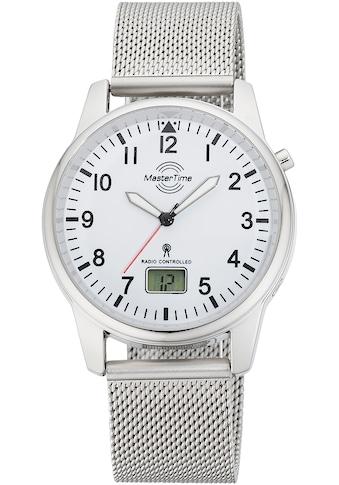 MASTER TIME Funkuhr »Basic, MTGA-10714-60M« kaufen