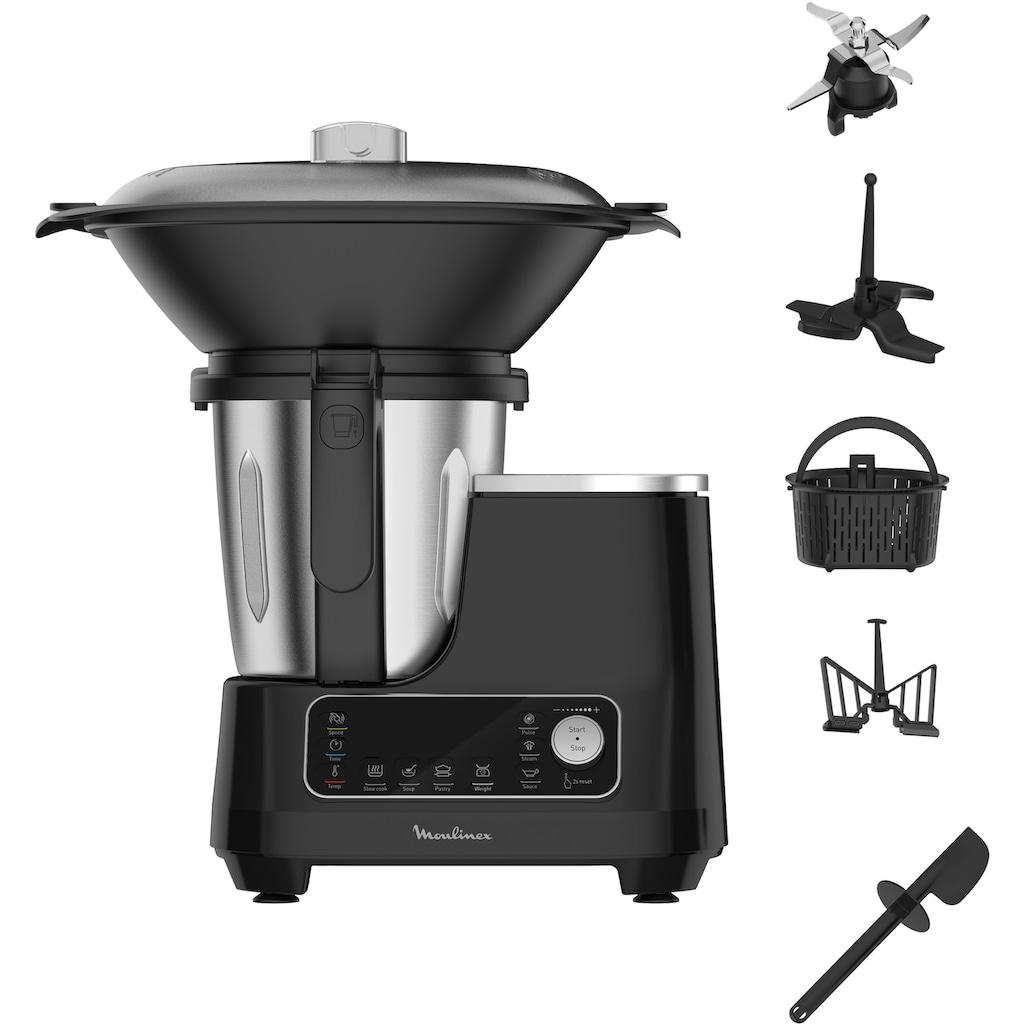 Moulinex Küchenmaschine mit Kochfunktion »HF4568 Click Chef«