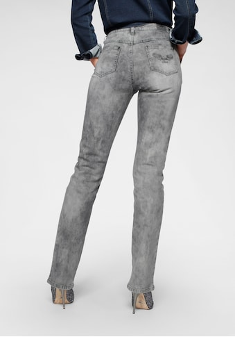 Arizona Gerade Jeans »Comfort-Fit«, Moonwashed Jeans kaufen