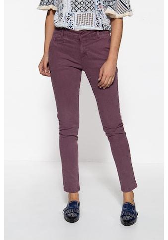ATT Jeans Slim-fit-Jeans »Valeria«, mit Schiebeknopf und Paspeltaschen kaufen