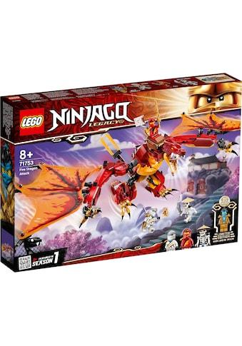 LEGO® Konstruktionsspielsteine »Kais Feuerdrache (71753), LEGO® NINJAGO®«, (563 St.),... kaufen