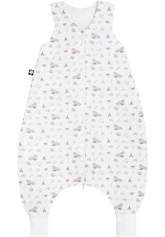 Julius Zöllner Babyschlafsack, mit Beinen Jersey Jumper Nordic Bear kaufen
