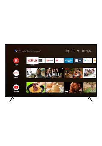 "Telefunken LED-Fernseher »XU55AJ600«, 139 cm/55 "", 4K Ultra HD, Smart-TV-Android TV kaufen"