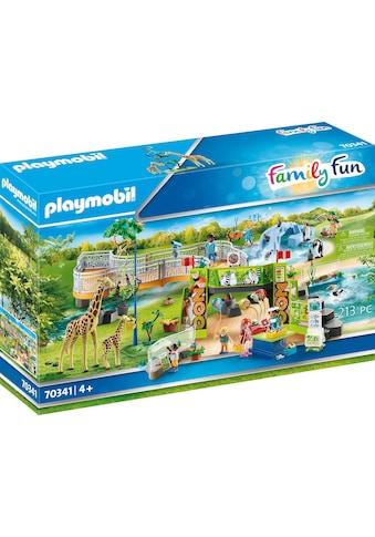 Playmobil® Konstruktions-Spielset »Mein großer Erlebnis-Zoo (70341), Family Fun«, ; Made in Germany kaufen