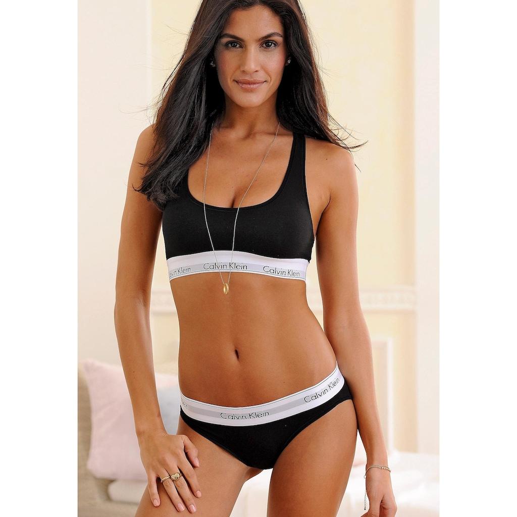 Calvin Klein Bikinislip »MODERN COTTON«, mit breitem Bündchen