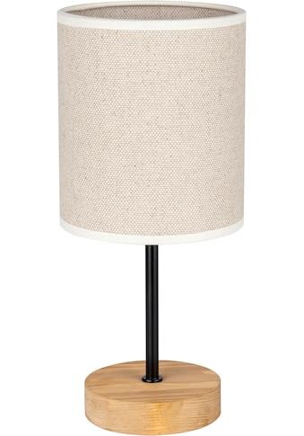 OTTO products Tischleuchte »Emmo«, E27, Tischlampe mit hochwertigem Textilschirm,... kaufen