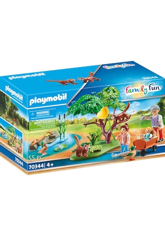 Playmobil® Konstruktions-Spielset »Kleine Pandas im Freigehege (70344), Family Fun«, ; Made in Germany kaufen