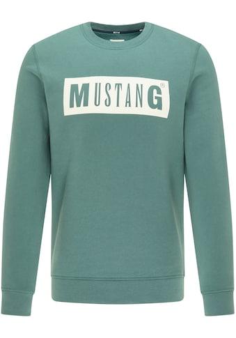 MUSTANG Sweatshirt »Ben C Logo« kaufen