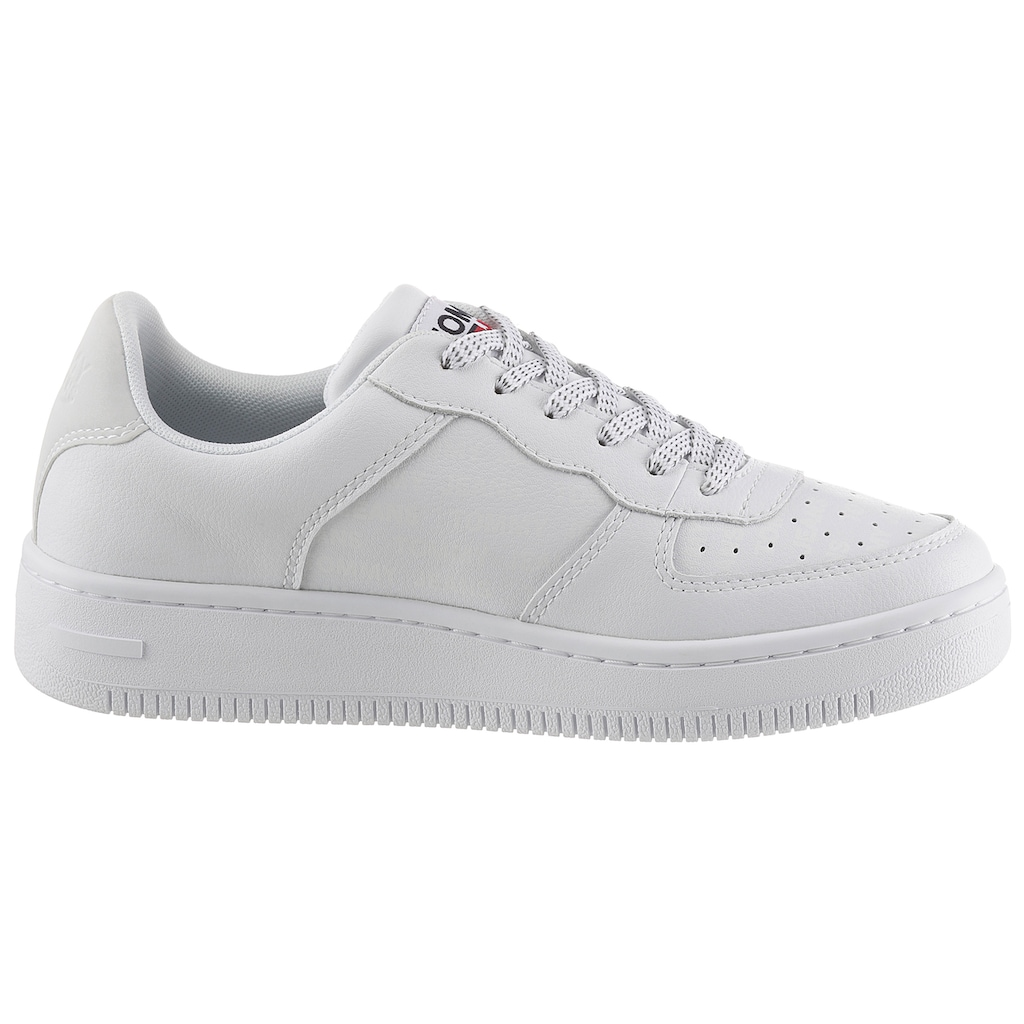 Tommy Jeans Keilsneaker »WMNS REFLECTIVE BASKET TOMMY JEANS«, mit Logoflag
