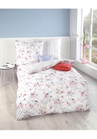 Kaeppel Wendebettwäsche »Sakura«, kleine Blumen und feine Linien kaufen