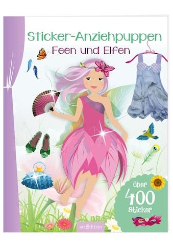 Buch »Sticker-Anziehpuppen - Feen und Elfen / DIVERSE« kaufen