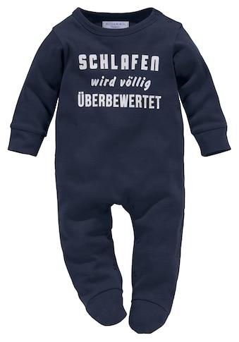 Klitzeklein Schlafanzug »Schlafen wird völlig überbewertet« kaufen