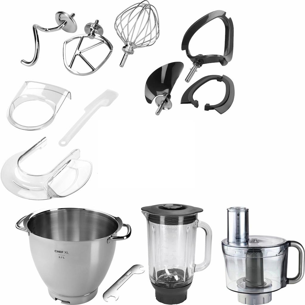 KENWOOD Küchenmaschine »Chef XL Titanium KVL8361S«, 5tlg. Patisserie-Set Pro, inkl. Gratiszubehör im Wert von UVP € 425,75