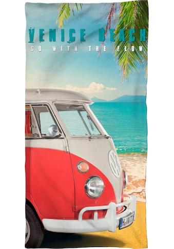 """Strandtuch """"Venice Beach"""", Volkswagen kaufen"""