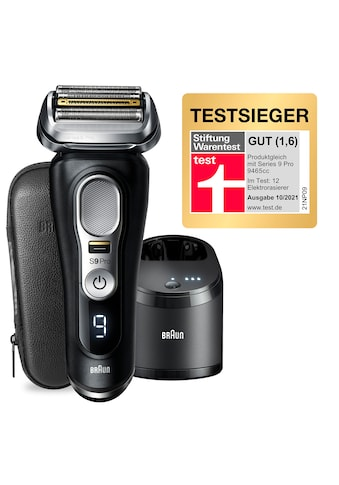 Braun Elektrorasierer »Series 9 Pro - 9460cc«, Reinigungsstation, 1 St. Aufsätze, 4+1... kaufen