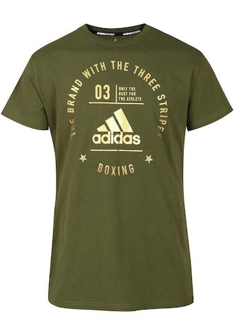 "adidas Performance T-Shirt »Community T-Shirt ""Boxing""« kaufen"