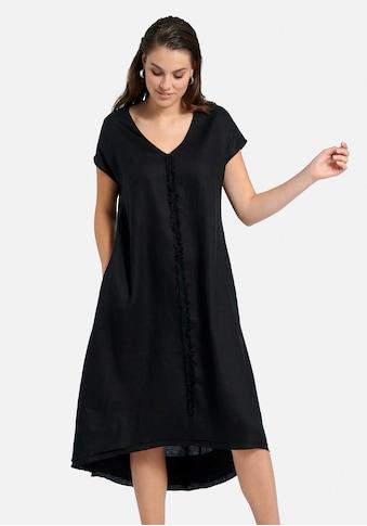 Emilia Lay Abendkleid »Kleid aus 100% Leinen«, mit Fransen kaufen