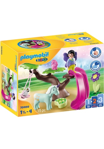 Playmobil® Konstruktions-Spielset »Feenspielplatz (70400), Playmobil 1-2-3«, Made in Europe kaufen